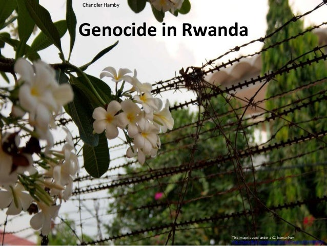 Genocide in Rwanda Chandler Hamby This image is used under a CC license from http://www.flickr.com/photos/christianhaugen/...