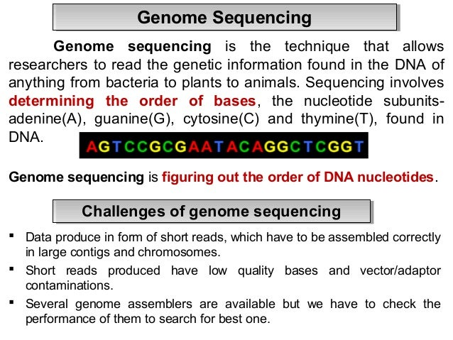 Genomics Refers to the study of all genes in the human ...