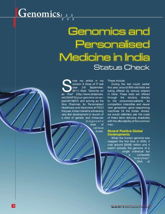 Genomics                                                       Genomics and                                               ...