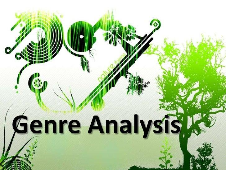Genre Analysis<br />