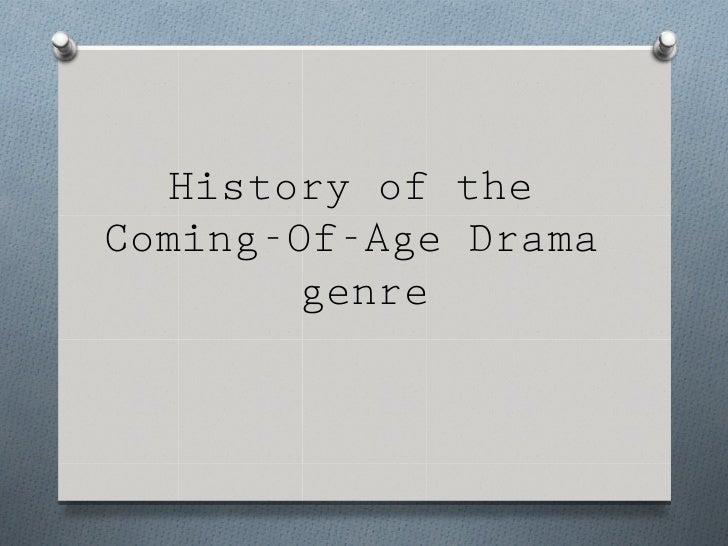 Genre history