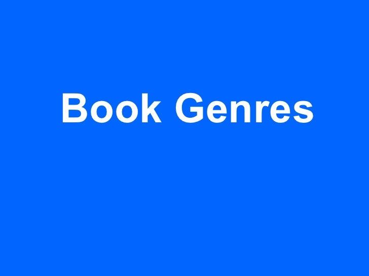 Genre introductionandquestions