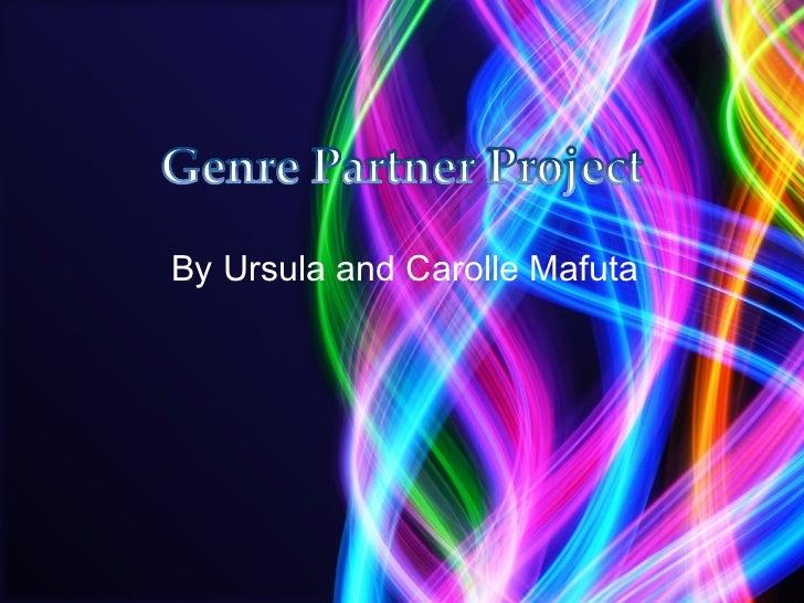 By Ursula and Carolle Mafuta