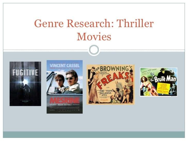 Genre research mediaaaaaaaa