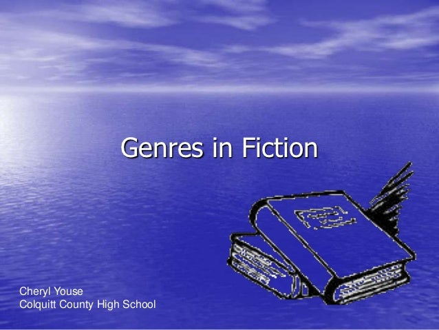 Genres in fiction