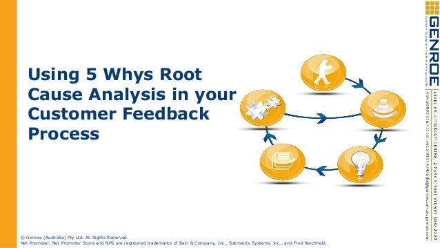 Root Cause Analysis 5 Whys Using The 5 Whys Root Cause