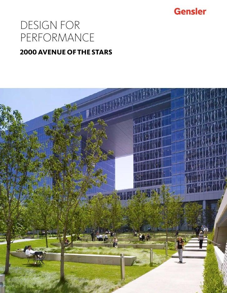 Gensler 2000 Avenue of the Stars