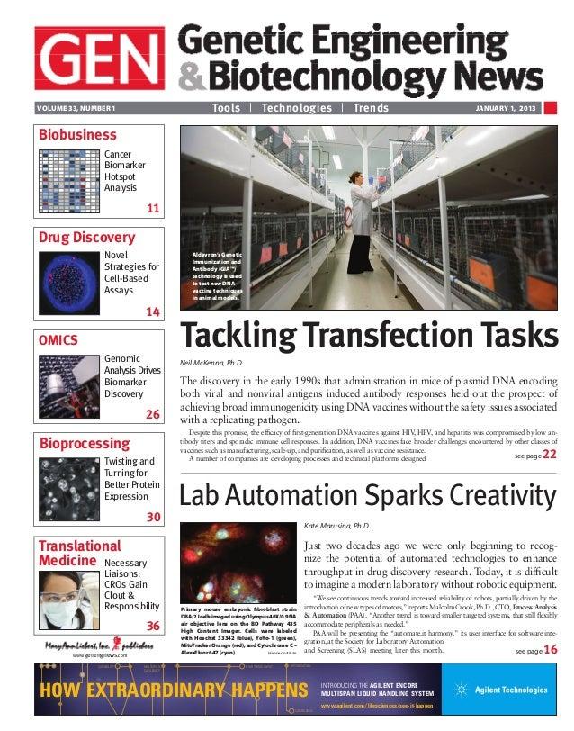 Tackling Transfection Tasks - Niel McKenna