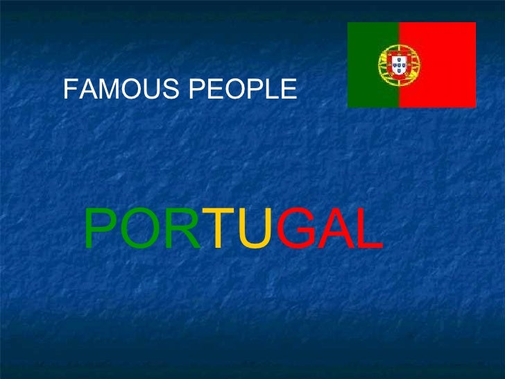 FAMOUS PEOPLE POR TU GAL