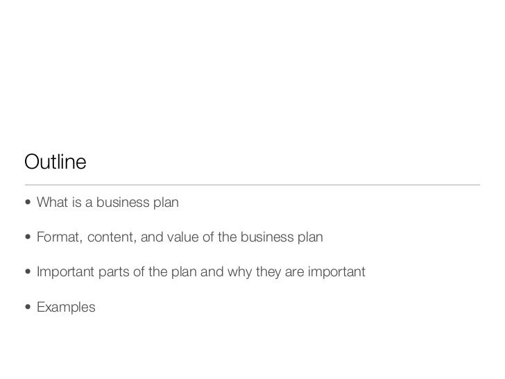 Tech business plan