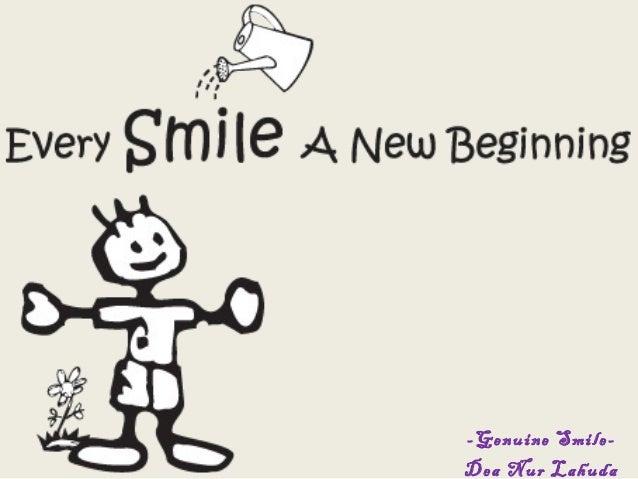 -Genuine Smile-Dea Nur Lahuda