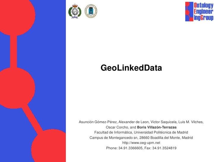 GeoLinkedData