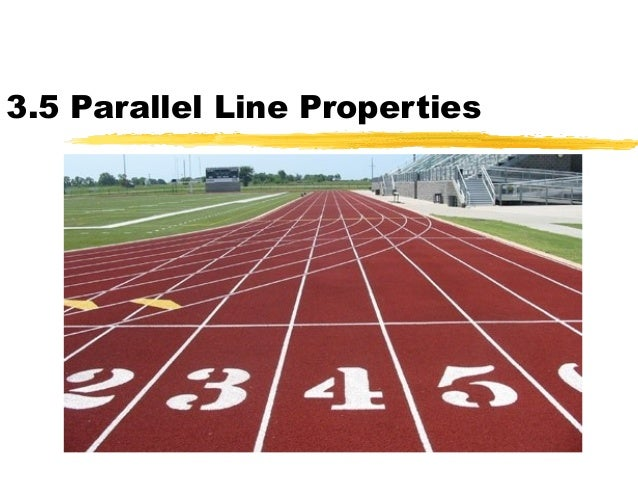 parallel and perpendicular lines real life The first has students finding actual examples of real-life parallel lines, the second uses them to make an artistic creation using parallel lines and then uses them to solve real- world problems, and finally in the third parallel lines are used to create maps of make.