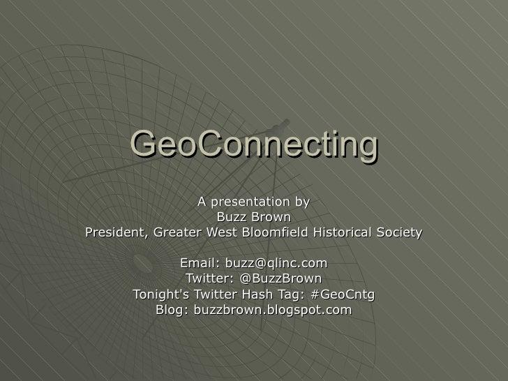 GeoConnecting