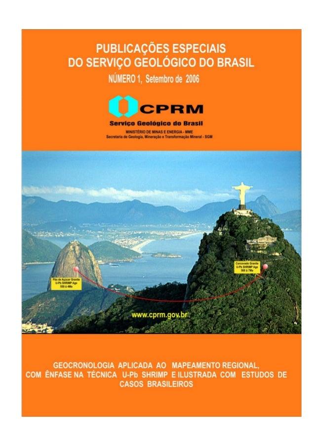 Capa: Foto panorâmica do Corcovado e Pão de Açúcar escolhida como cartão postal e um dos ícones do 31º. Congresso Geológic...