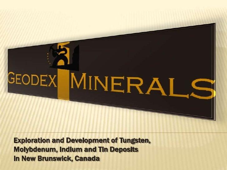 Geodex 4 17 09