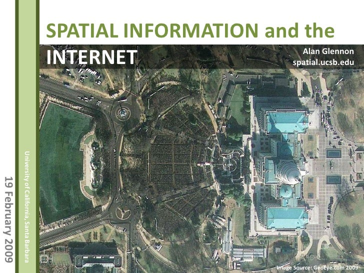 Spatial Information and the Internet