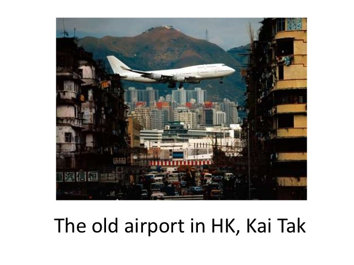 The old airport in HK, Kai Tak<br />