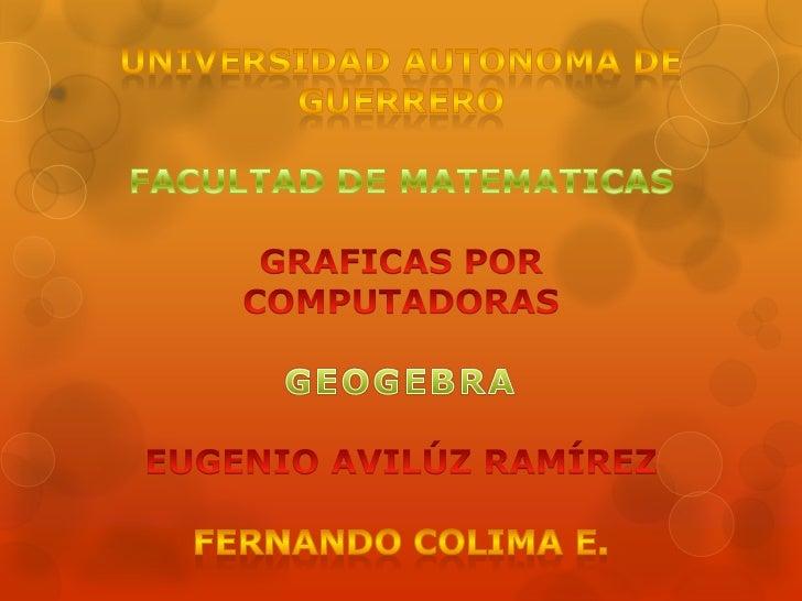 GeoGebra                                                                   GeoGebra                    GeoGebra 4.0.30 en ...