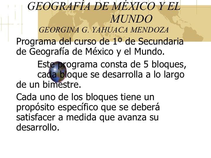 Libro Geografa De Mxico Y Del Mundo 1   MEJOR CONJUNTO DE