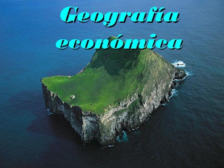Geografíaeconómica