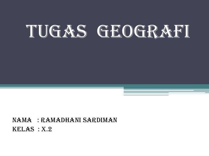 Geografi - Pantai