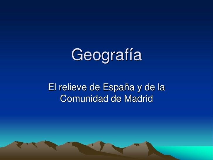 Geografia España
