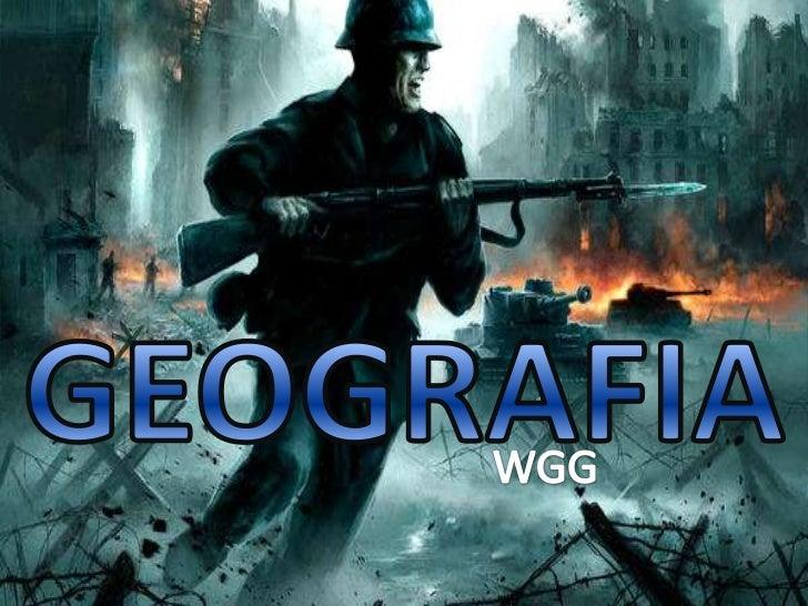 GEOGRAFIA<br />WGG<br />