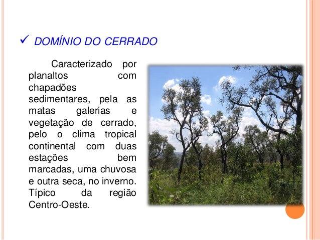 Resultado de imagem para DOMINIO DOS CERRADOS
