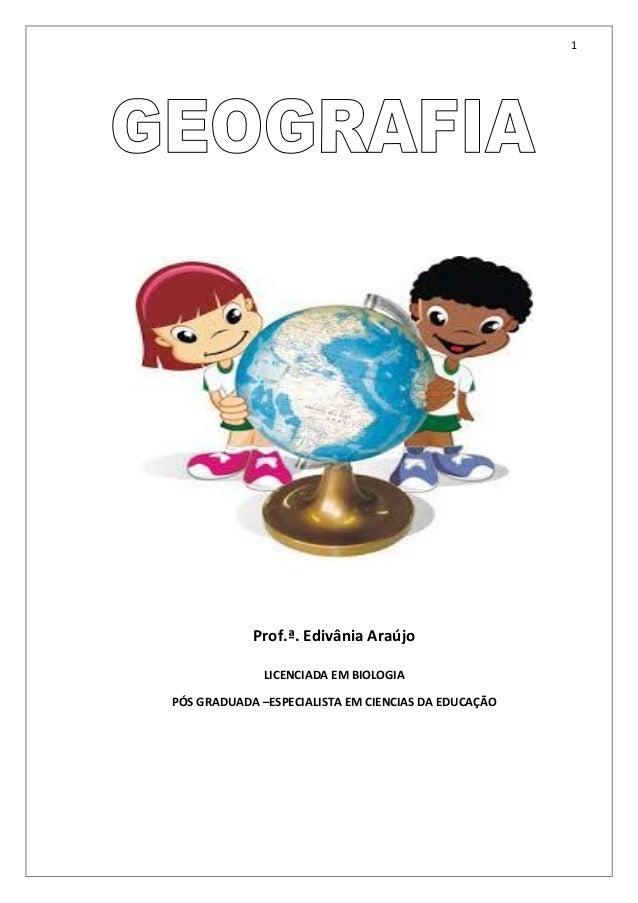 Geografia modulo iii