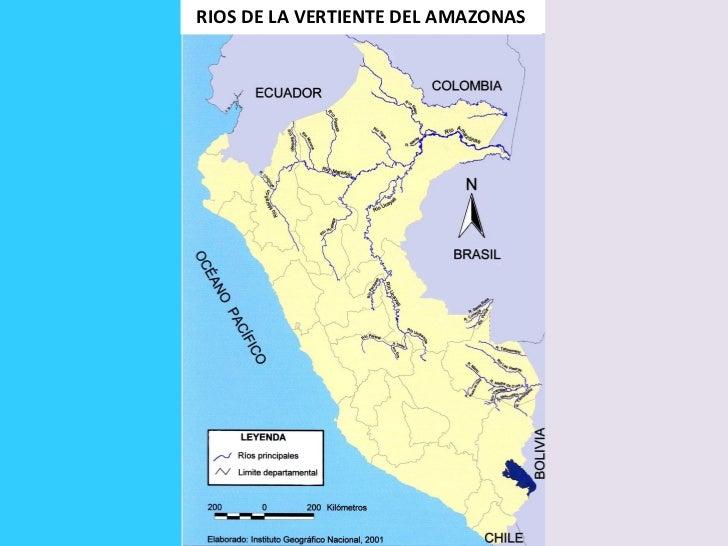 RIOS DE LA VERTIENTE DEL AMAZONAS
