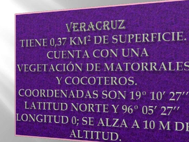 cultura        Veracruz conserva numerosas ruinas arqueológicas , como las de El Tajín, pertenece a   la cultura totonaca....