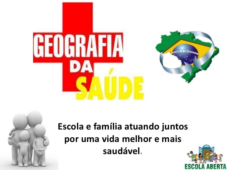 Geografia da saúde no Brasil