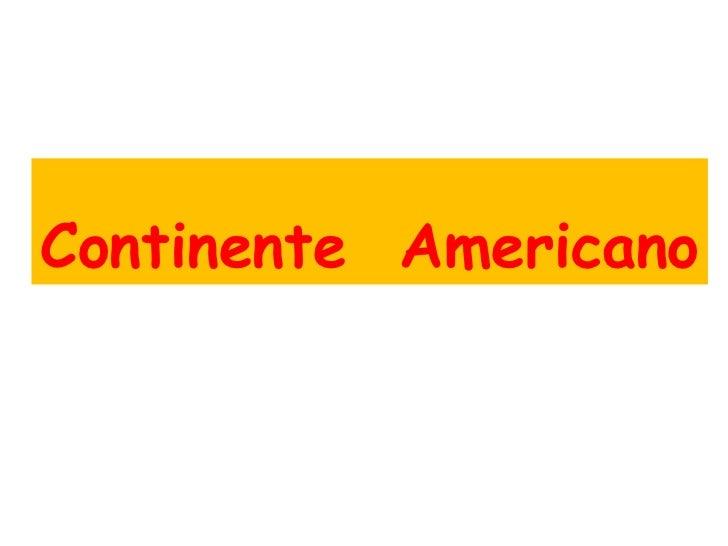 Geografia de america 1