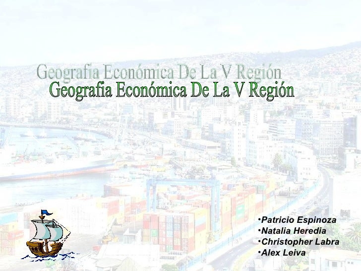 Geografia Economica Valparaiso