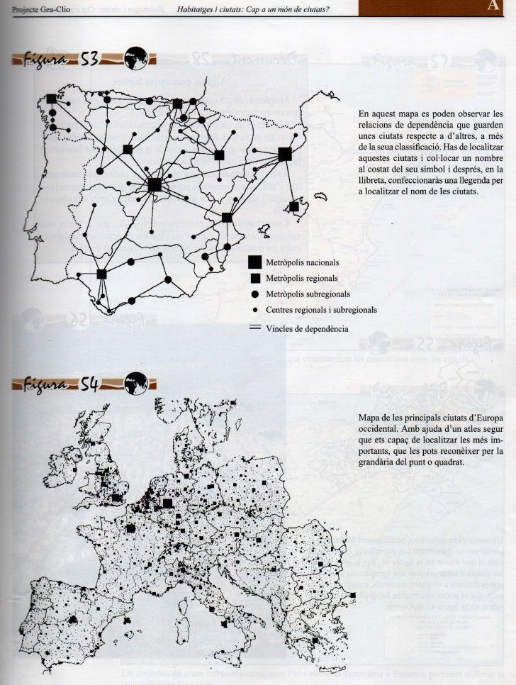 Geografia Gea Clio 3 Xarxa Urbana Esp Eu