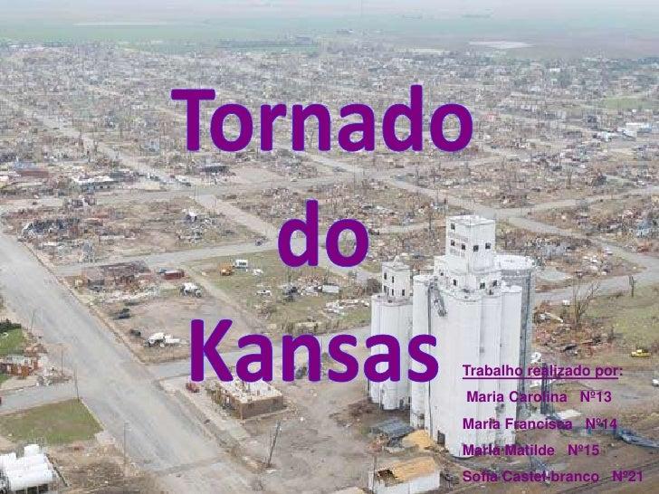 Geografia Kansas Tornadoooo