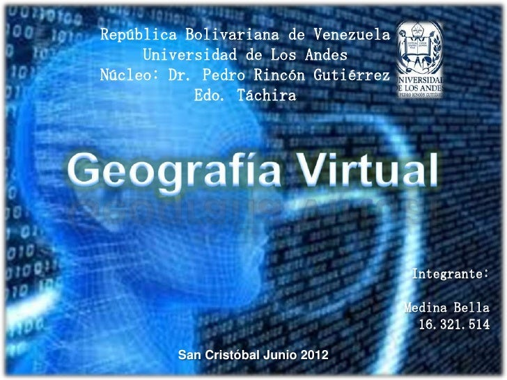 Geografia virtual