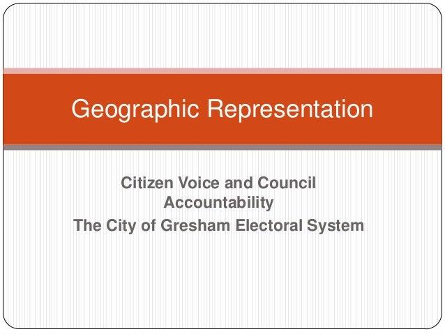 Geographic representation 38