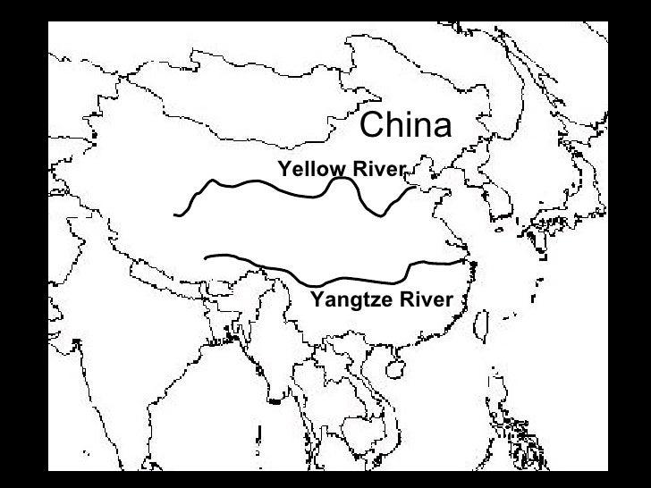 Ancient china map worksheet