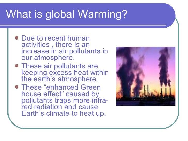 global warming effect essay