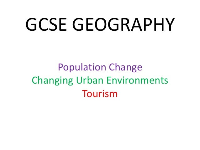 GCSE AQA Geography Unit 2