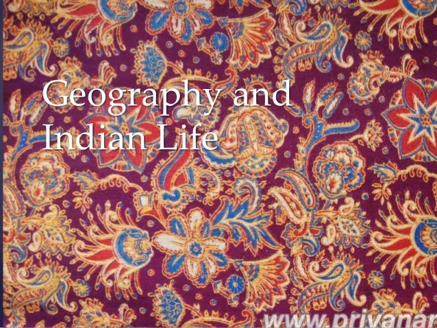 Geography andIndian Life  {