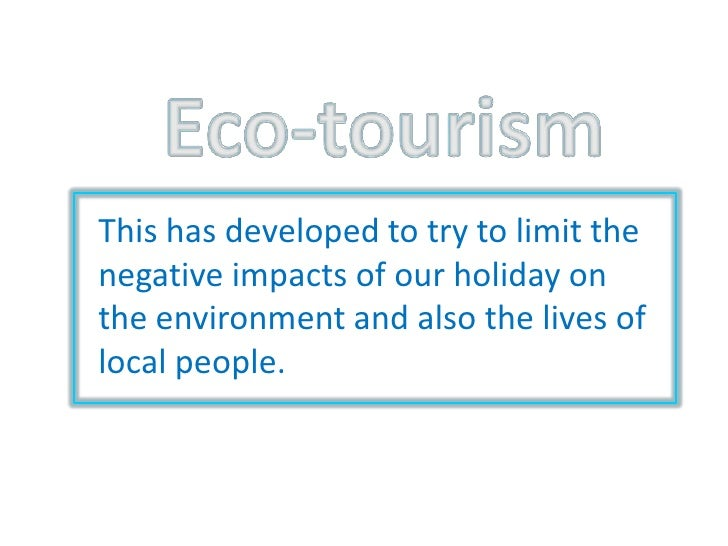Geography Eco Tourism