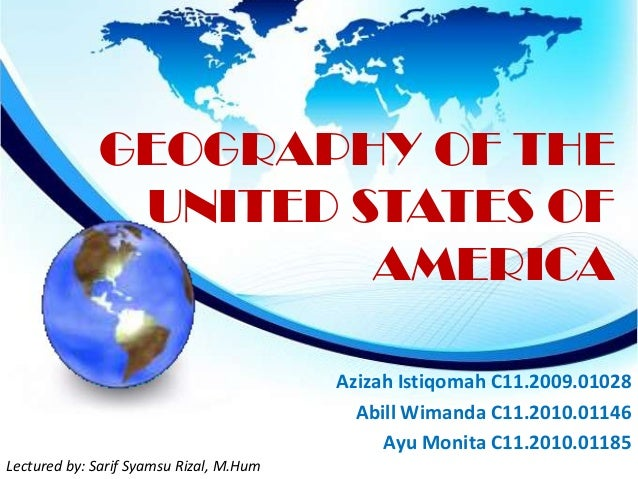 Geography of the United States of America