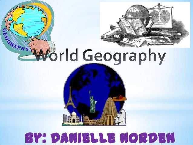 Geography PPT lesson
