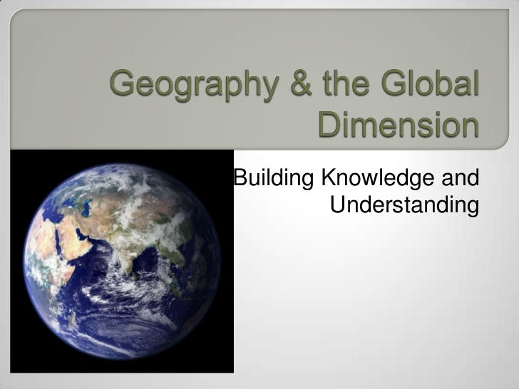 Building Knowledge and          Understanding