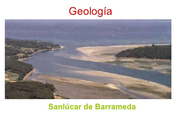 Geología Sanlúcar de Barrameda