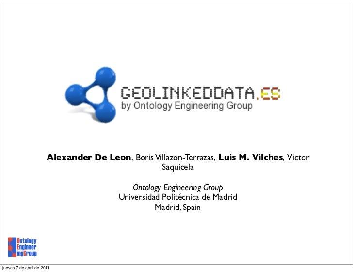 Alexander De Leon, Boris Villazon-Terrazas, Luis M. Vilches, Victor                                                  Saqui...