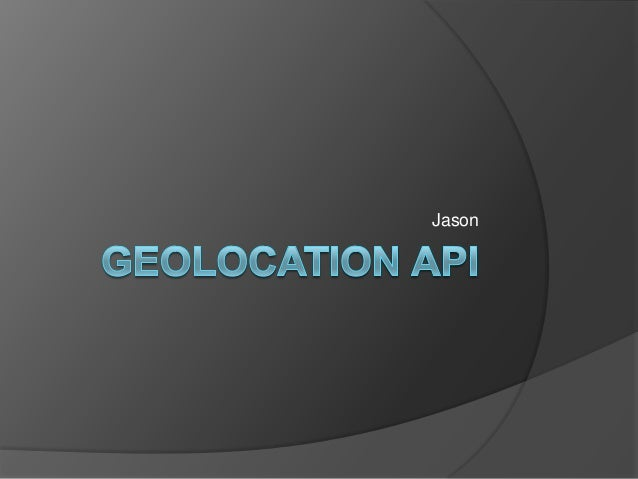 Geoloaction